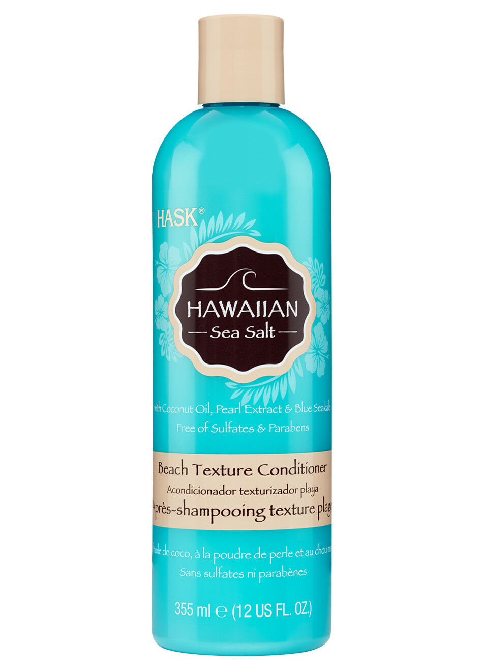 Hask Hawaiian Sea Salt Beach Texture Conditioner with Coconu