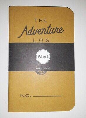 New Word Adventure Bradley Mountain The Adventure Log Notebooks Lot Of 3 NOS