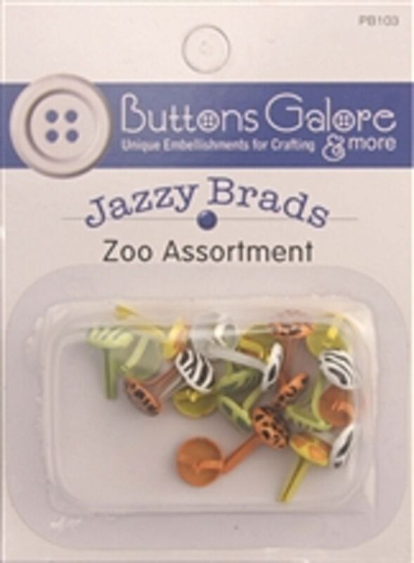 **  ZOO  JAZZY BRADS **  4  COLORS **   REDUCED