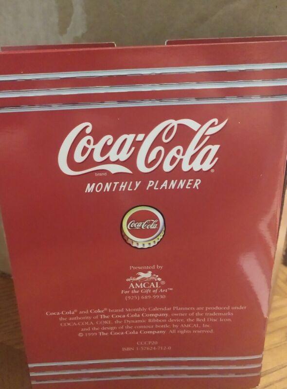 Coca-Cola Monthly Planner 2000
