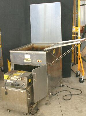Belshaw Adamatic Gas Open Kettle Donut Fryer 718lcg-ng Sf18 Shortening Filter