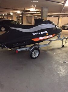 Seadoo GTI SE 130 - 8 Hours with Trailer!