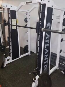 Atlantis commercial grade smith machine