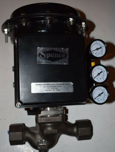 SPENCE ENGINEERING J3KD913-3GRDMP02 PNEUMATIC CONTROL VALVE