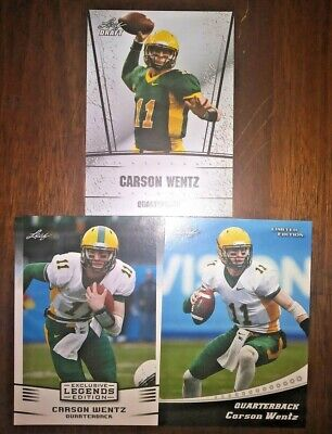 Best Deals On Carson Wentz Rookie Card Lot Shopping123com