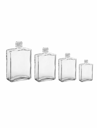 Two Oz. Flint Rectangular Bottles One Case - 180 Bottles