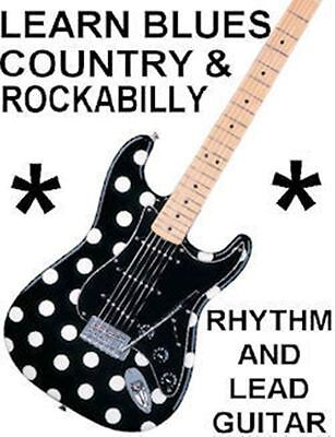 Learn Blues Country Rockabilly Guitar DVD Video Lessons. Be A Much Better