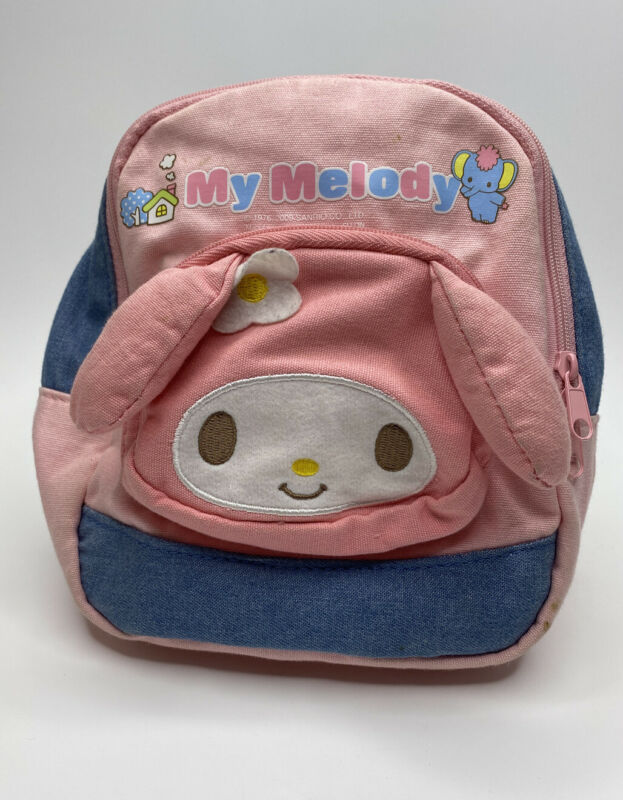 Sanrio 2009 Pink My Melody Mini Backpack Small Travel Shoulder Bag Gift Cute