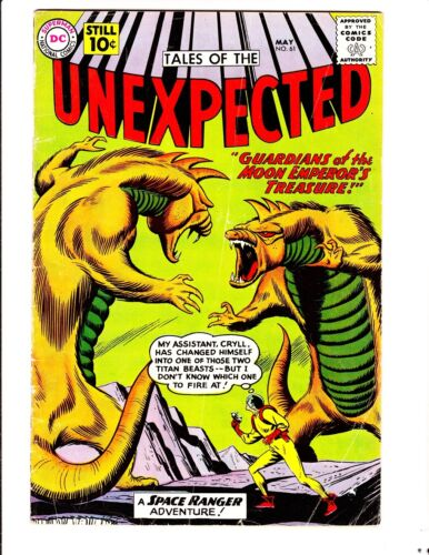 Tales of the Unexpected 61 (1961): FREE to combine- in Very Good-  condition
