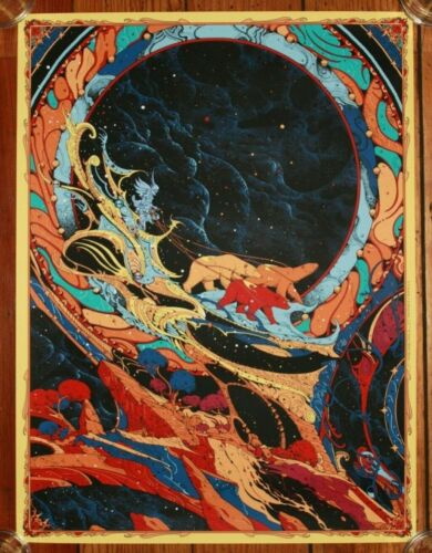 Kilian Eng (Graphic Design - GoT Dune Aliens) Frank Frazetta SDCC Print Ltd 400