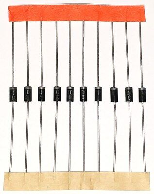 1N4001 Diodes 10pcs Rectifier Diode 50V 1A DO-41 USA SELLER IN4001