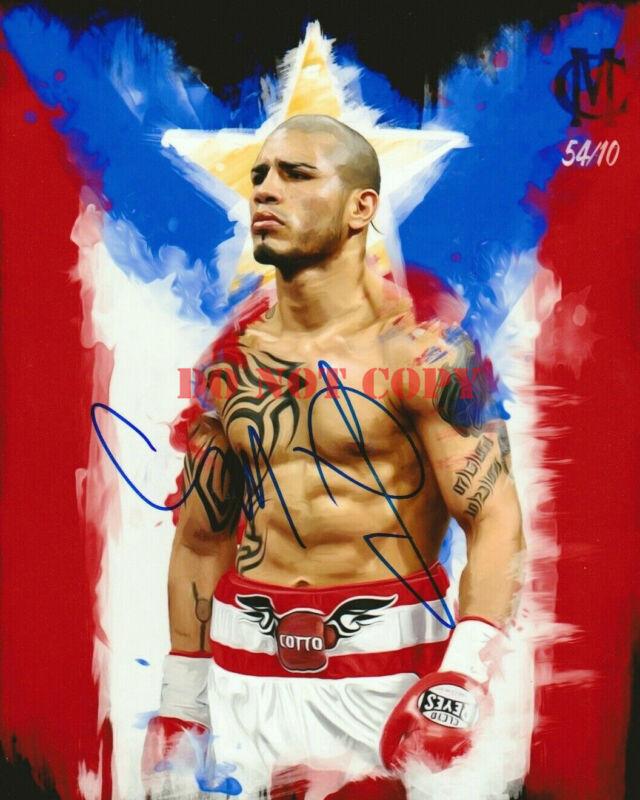 MIGUEL COTTO Boxing Champ Signed Autograph Auto 8x10 Photo Picture reprint
