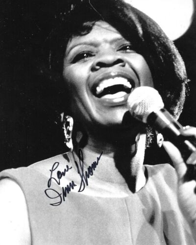 * IRMA THOMAS * signed 8x10 photo * SOUL QUEEN OF NEW ORLEANS * COA * 7
