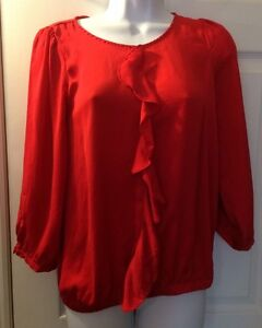 Zara Ruffle Sleeve Blouse 110