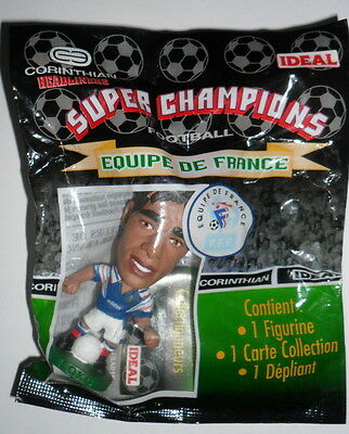 CORINTHIAN FOOTBALL FIGURE PLUS CARD>Patrice Loko FRA016 New Sealed Pack