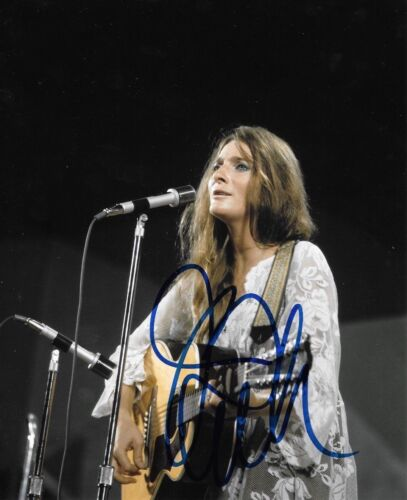 * JUDY COLLINS * signed autographed 8x10 photo * BOTH SIDES, NOW * PROOF * 2