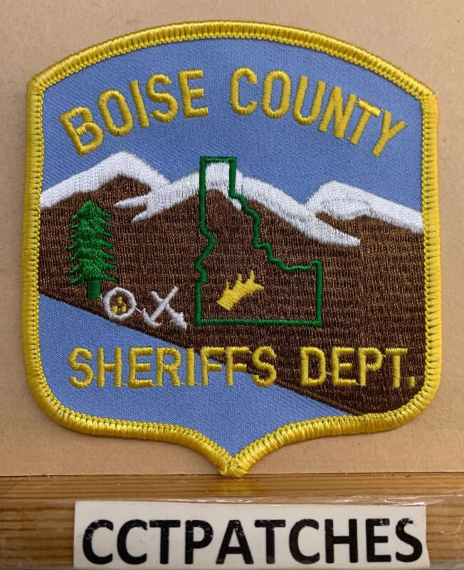 BOISE COUNTY, IDAHO SHERIFF (POLICE) SHOULDER PATCH ID