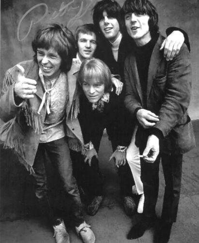 * PETER LEWIS * signed 8x10 photo * MOBY GRAPE * COA * 8