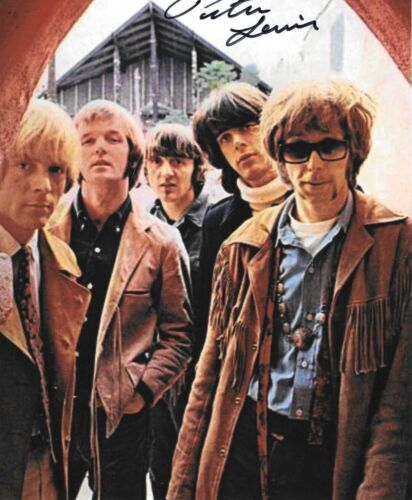 * PETER LEWIS * signed 8x10 photo * MOBY GRAPE * COA * 4