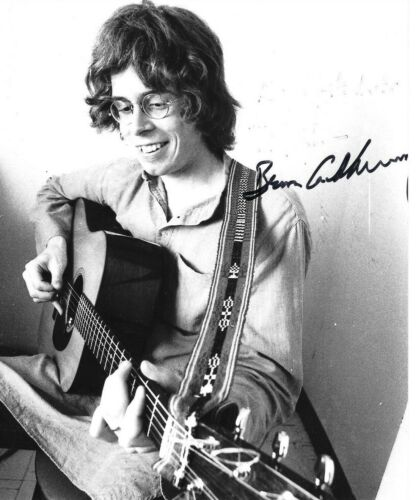 """* BRUCE COCKBURN * signed 8x10 photo * DANCING IN THE DRAGON""""S JAWS * COA * 6"""