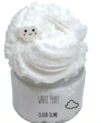 8oz White Fluff Cloud Slime (FREE SHIPPING!)