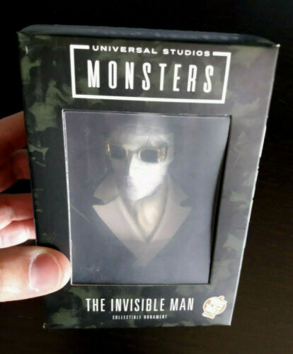 The Invisible Man Ornament / Bust - Trick or Treat Studios Universal Monsters