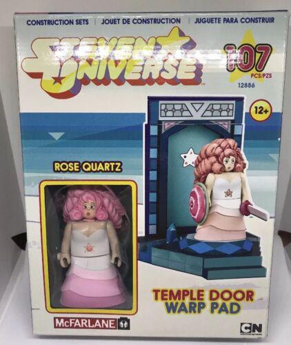 Steven Universe Temple Door Warp Pad Building Set McFarlane 107 PCS Rose Quartz