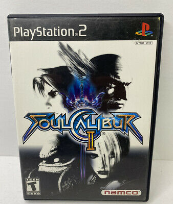 Sony Playstation 2 PS2 Soul Caliber II Video Game COMPLETE W/ Demo Disc RARE