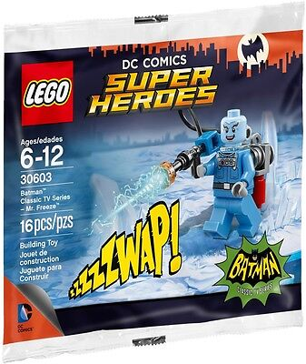LEGO - DC Comics Super Heroes - Mr. Freeze Minifigure 30603 - New and Sealed