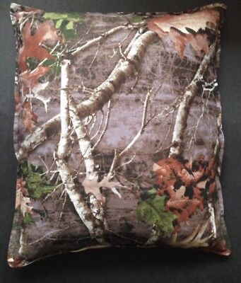 """Camouflage Forest Rice or Corn Heating Bag  10"""" x  7.5"""" Use Hot or Cold"""