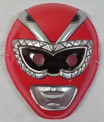 POWER RANGERS RED RANGER 8'' MASK FOR KIDS HALLOWEEN PROP NEW IN QUANTITY B