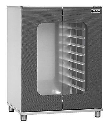 Bartscher,CNS-Gärschrank 823HO,Wärmeschrank,8xGN 2/3 Schrank für Teig+Teiglinge