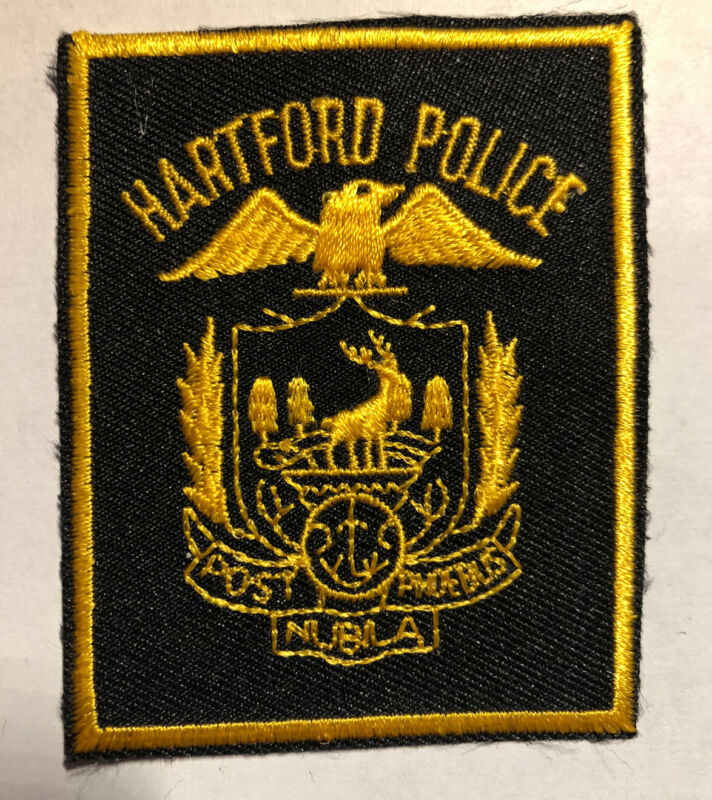 Hartford Connecticut Police Patch~New Condition