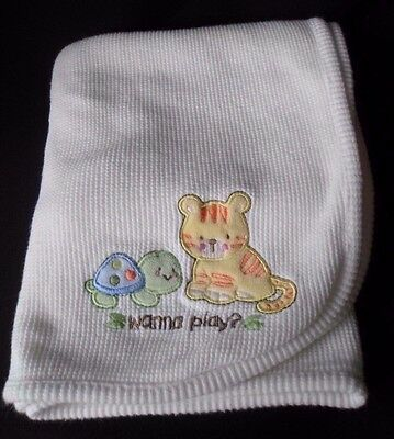 Koala Baby White Baby Blanket Thermal Tiger Cat Turtle White Security Lovey