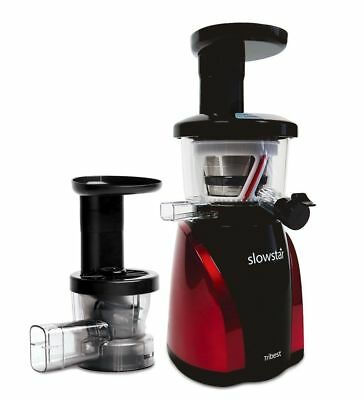 - NEW - Tribest Slowstar Vertical Slow Juicer and Mincer Cold Press - SW-2000