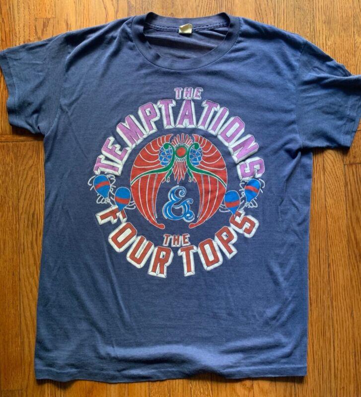 Vintage The Temptations and Four Tops TNT tour shirt - SM-MED.