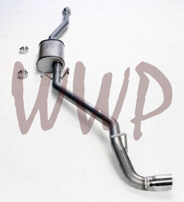 Stainless Steel Side Exit Cat Back Exhaust System 00-04 Toyota Tacoma 2.7L/3.4L