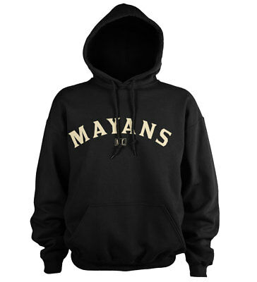 Officially Licensed Mayans M.C. Curved Logo Hoodie S-XXL Sizes