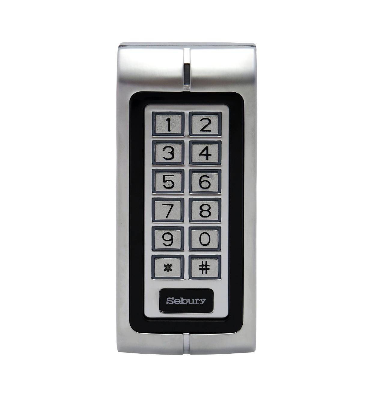 Sebury Waterproof IP65 Metal 125Khz RFID Keypad Door Access Controller