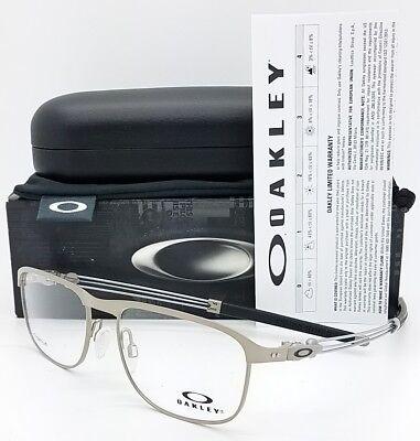 NEW Oakley Truss Rod R RX Prescription Frame Light Silver OX5122-0353 53mm 5122