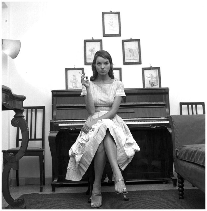 Elsa Martinelli Sitting On The Piano 8x10 Photo Print