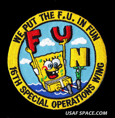 USAF 16TH SPECIAL OPERATIONS WING - WE PUT THE F.U. IN FUN  4