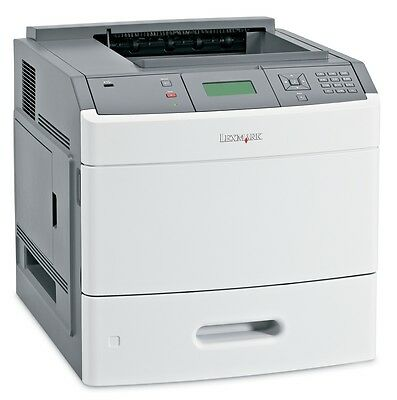 Lexmark T654N Laser Printer Refurbished with 90-day warranty T654 55PPM, 256MB