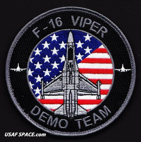 USAF F-16 VIPER DEMONSTRATION TEAM -Davis-Monthan AFB- AIR FORCE BLACK PATCH