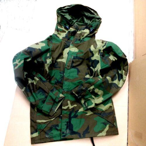 New Military ACU Rainsuit WET-COLD WEATHER Gear Rain Jacket HvyDuty Coat Scout
