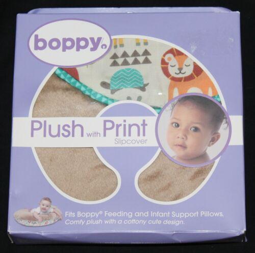 Boppy Plush with Print Slipcover Mod Jungle new