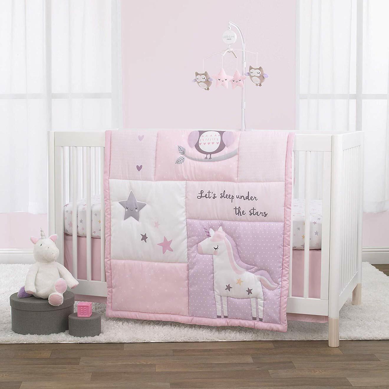 Shine On My Love 4 Pc. Crib Bedding Set By NoJo - $84.99