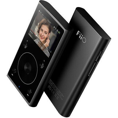FiiO X1-II High Resolution Lossless Music Player (2nd Generation) (Black)