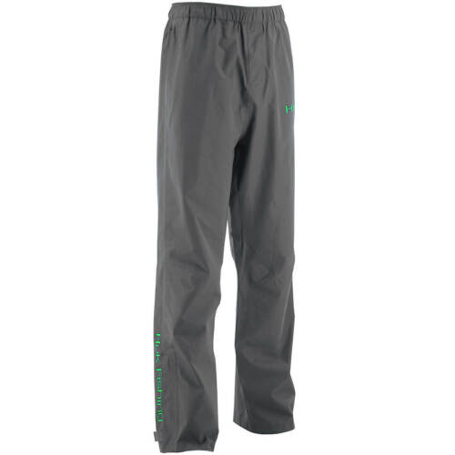 Huk Packable Rain Fishing Pants, Gray, Men