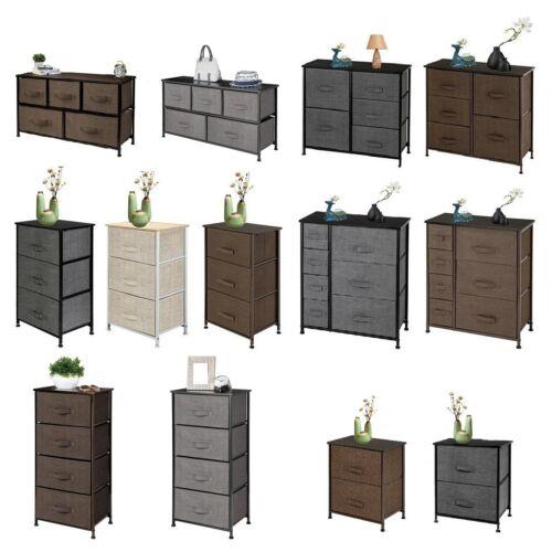 Bedroom Set Furniture 4/5/7 Dressers Chest Drawer Nightstand Storage Full Queen